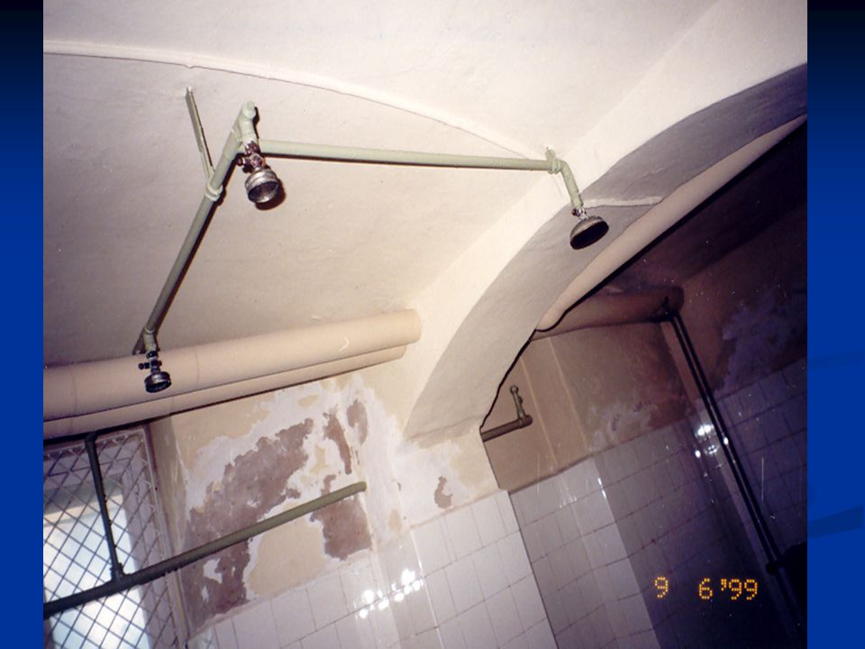 The gas chambers at the killing centers became the prototypes for the showers of the concentration camps.