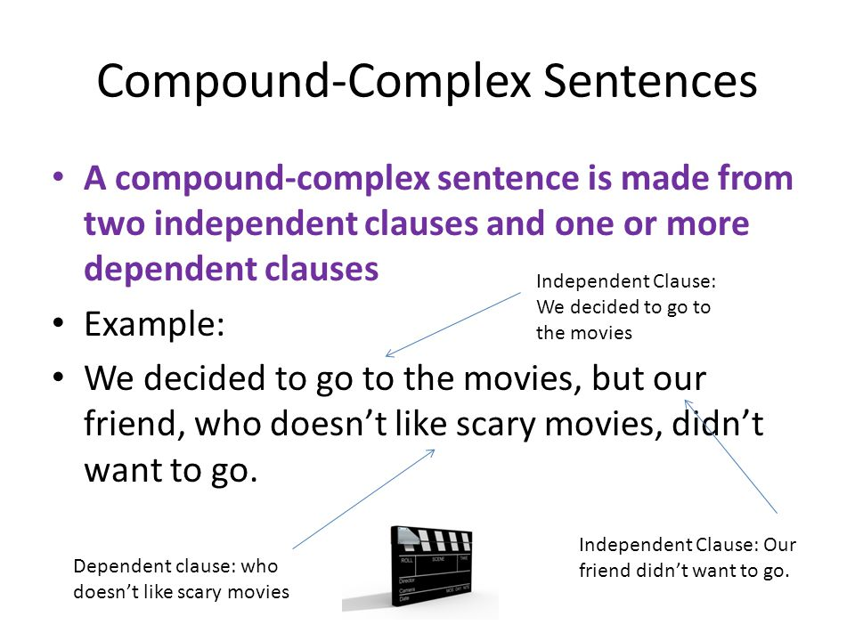 Compound-Complex Sentences
