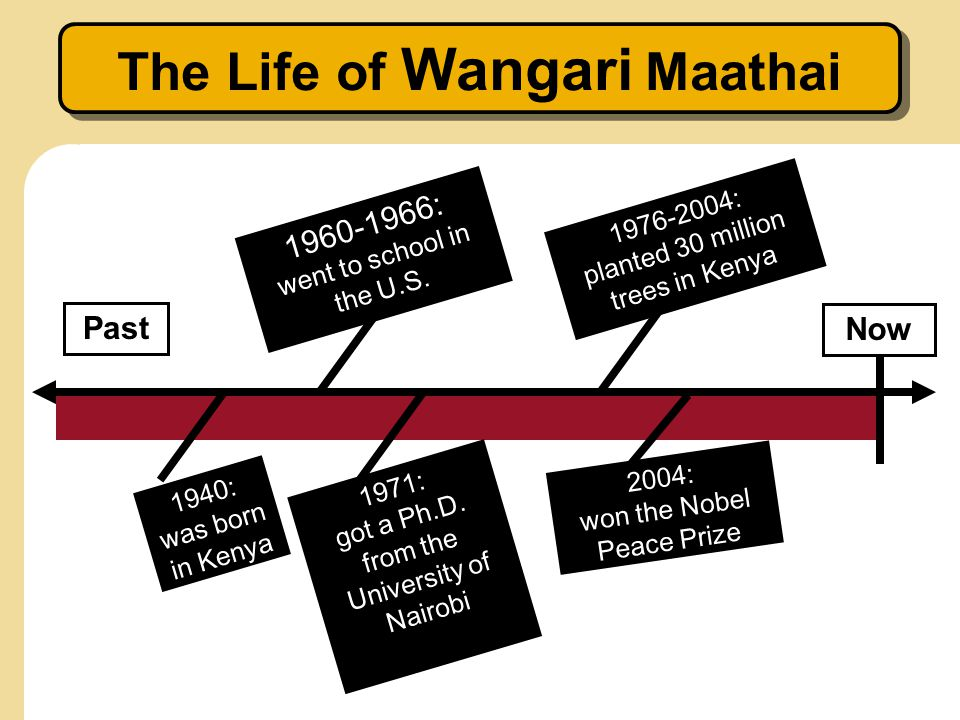 The Life of Wangari Maathai