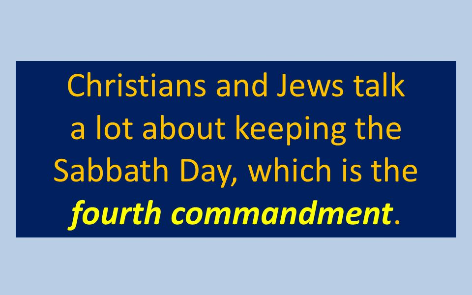 Christians and Jews talk