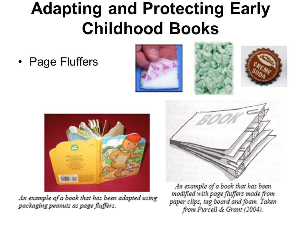 Adapting and Protecting Early Childhood Books