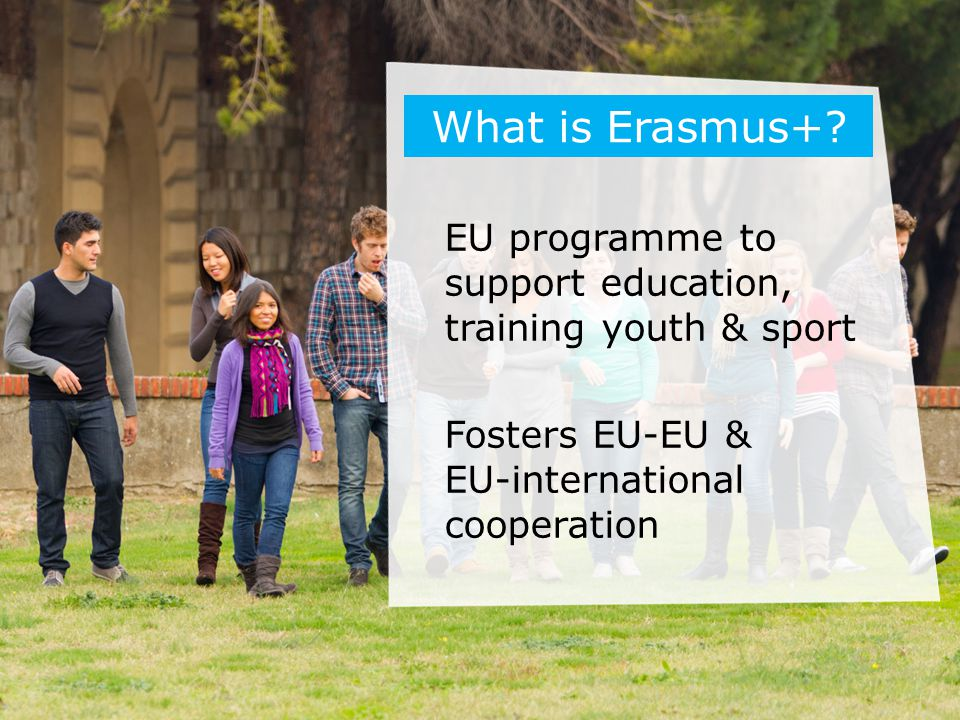 What is Erasmus+.