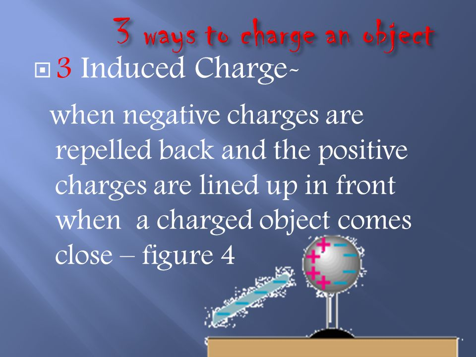 3 ways to charge an object