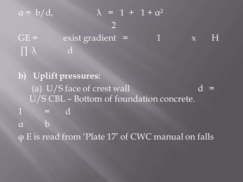 cwc manual on canal falls