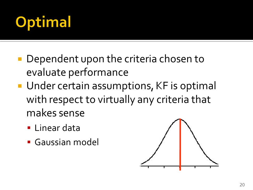 Optimal Dependent upon the criteria chosen to evaluate performance