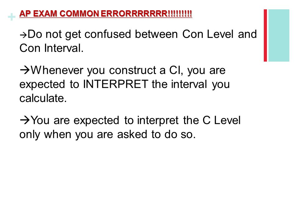 AP EXAM COMMON ERRORRRRRRR!!!!!!!!!