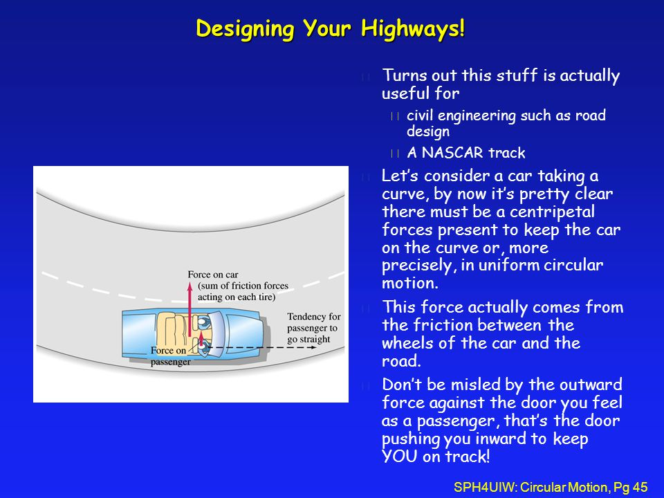 Designing Your Highways!