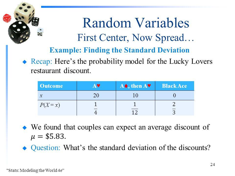 Random Variables  - ppt download