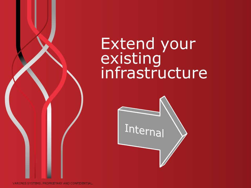 Extend your existing infrastructure