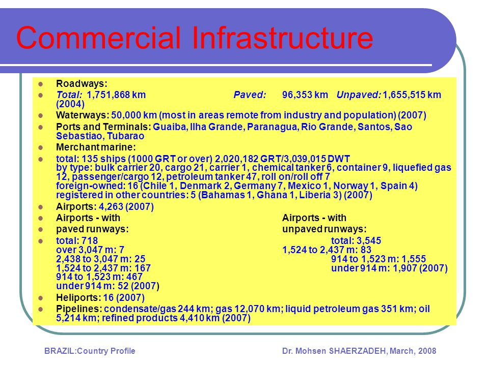 Commercial Infrastructure