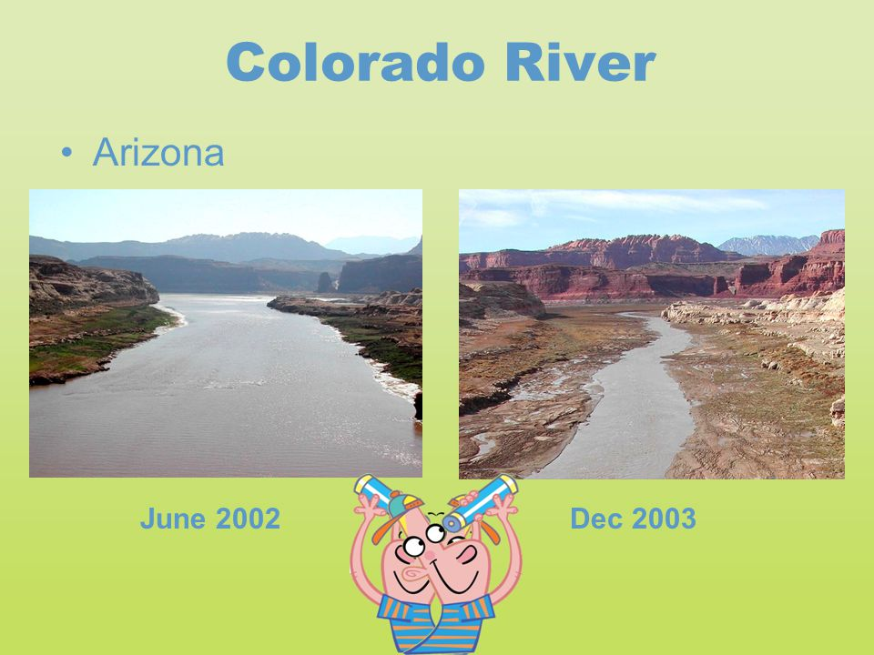 Colorado River Arizona June 2002 Dec 2003