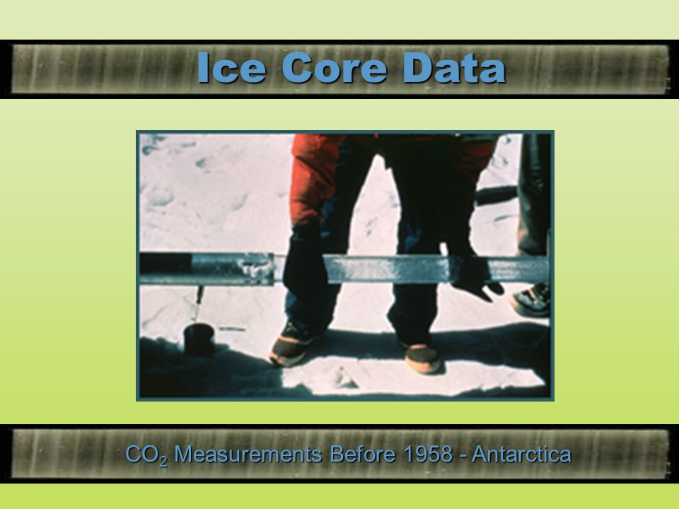 CO2 Measurements Before Antarctica