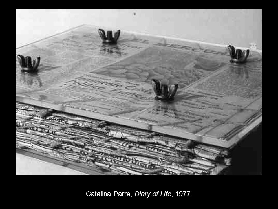 Catalina Parra, Diary of Life, 1977.