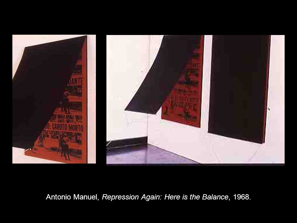 Antonio Manuel, Repression Again: Here is the Balance, 1968.