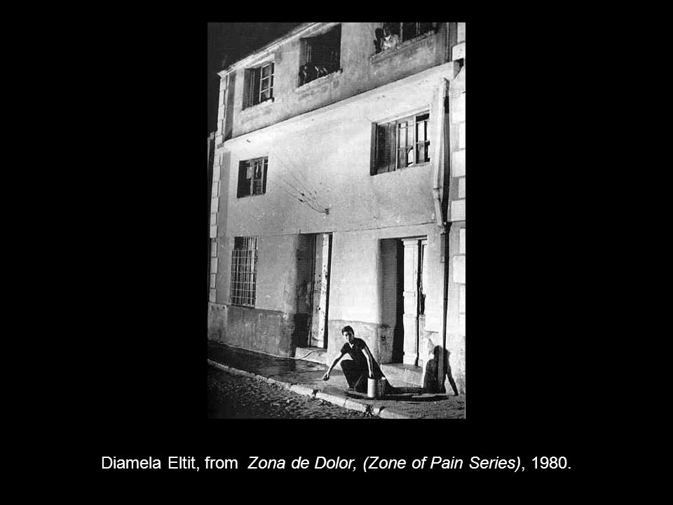 Diamela Eltit, from Zona de Dolor, (Zone of Pain Series), 1980.