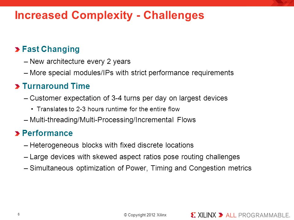 Increased Complexity - Challenges