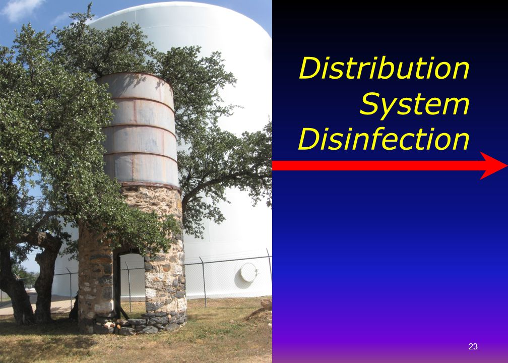 Distribution System Disinfection
