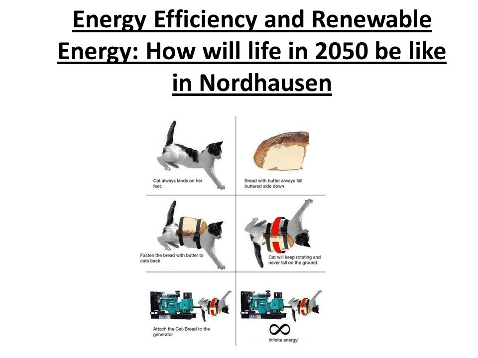 Energy Efficiency and Renewable Energy: How will life in 2050 be like in Nordhausen