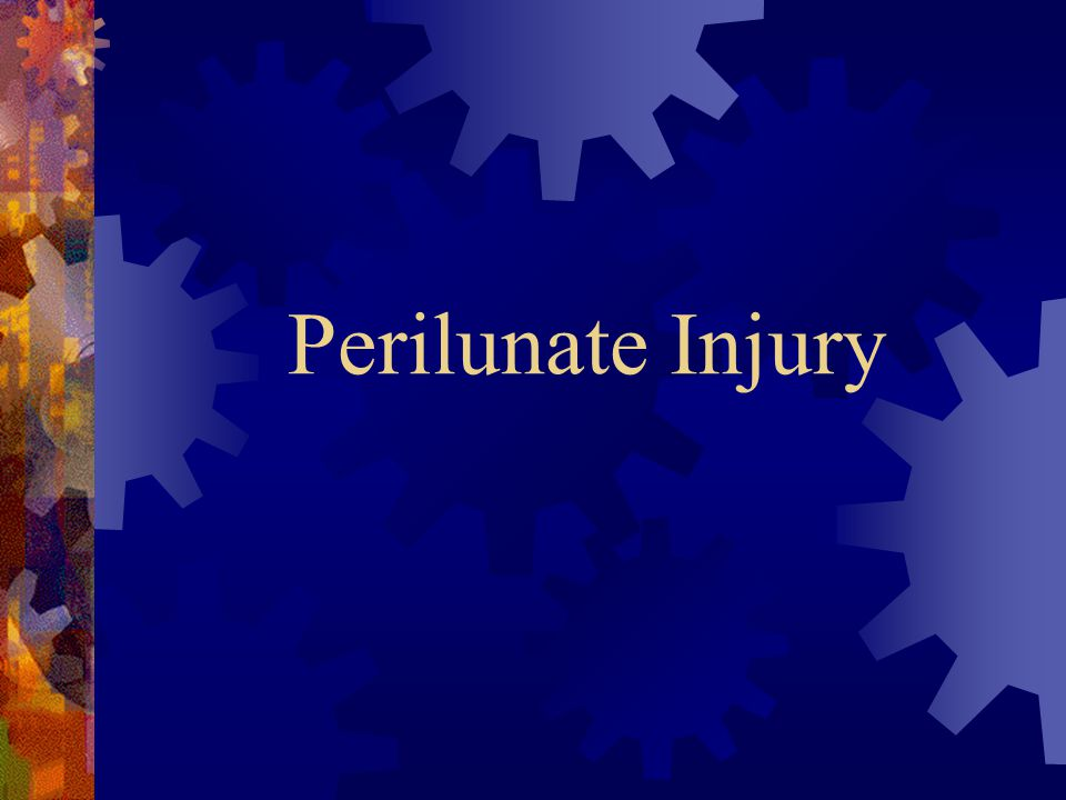 Perilunate Injury