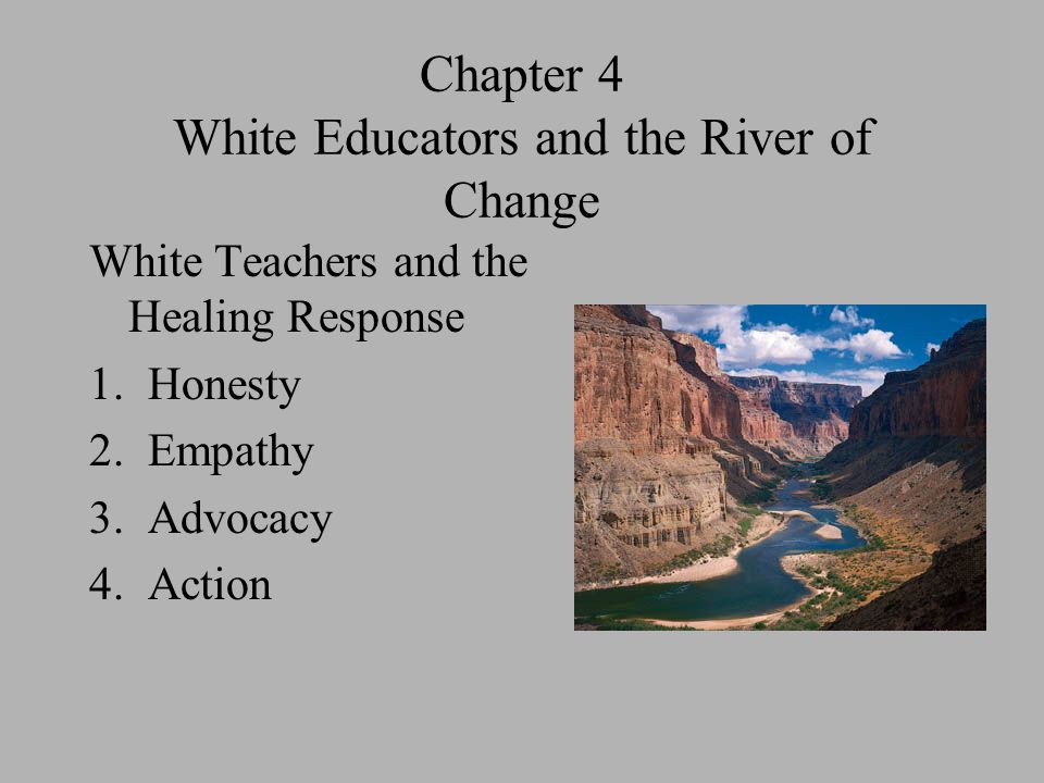 Chapter 4 White Educators and the River of Change