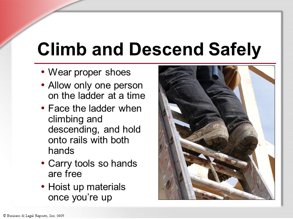 Climb and Descend Safely