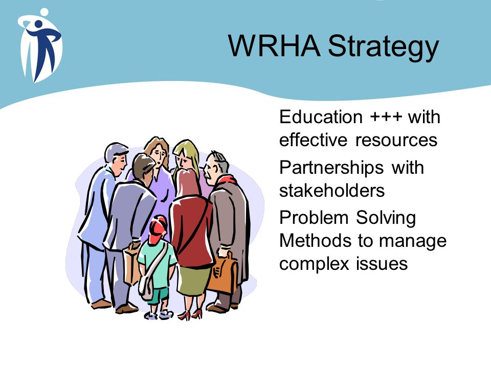 WRHA Strategy Education +++ with effective resources