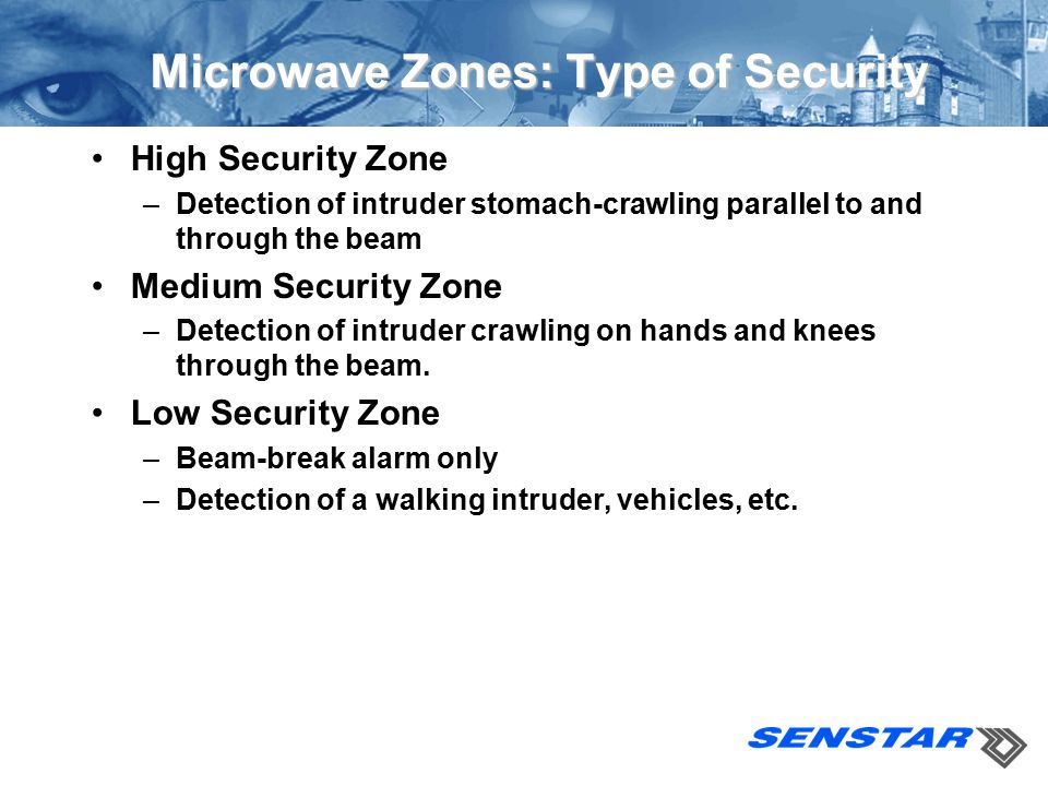Microwave Zones: Type of Security