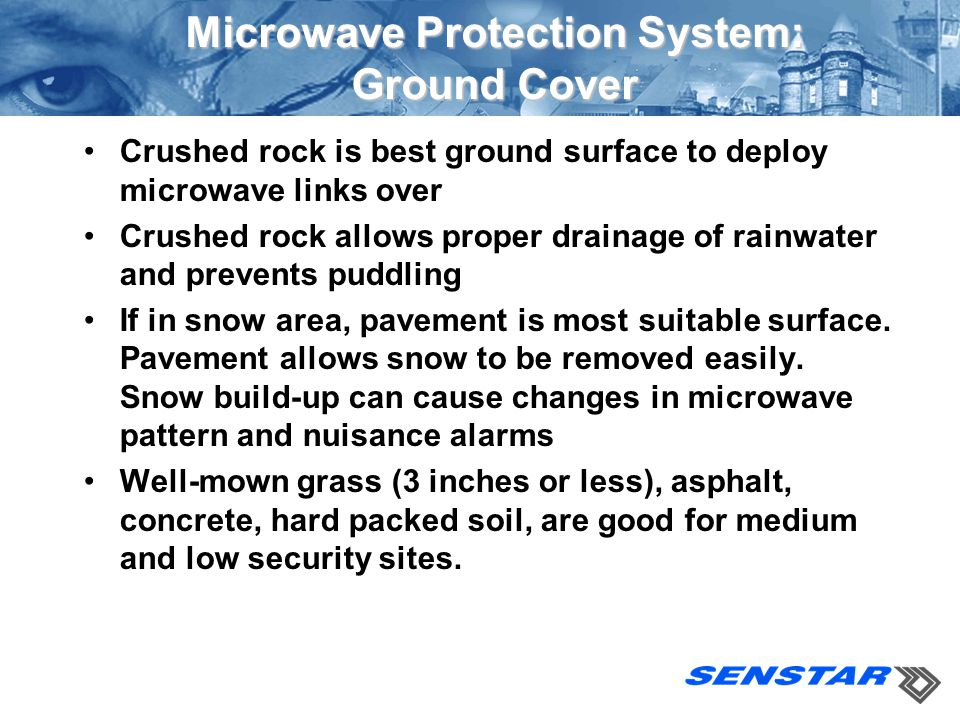 Microwave Protection System: Ground Cover