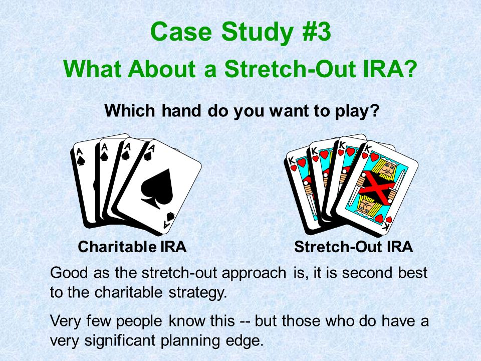 What About a Stretch-Out IRA