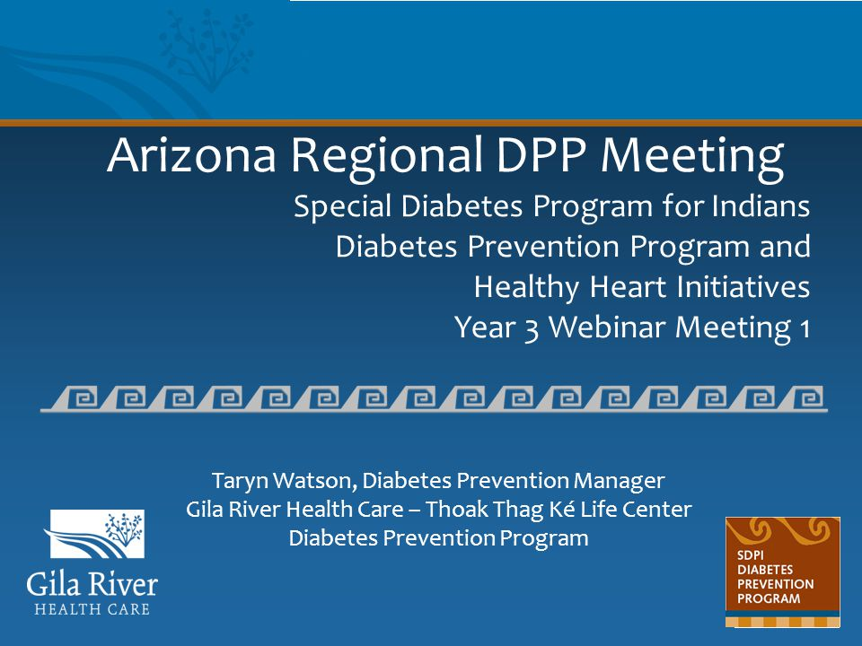 Arizona Regional DPP Meeting