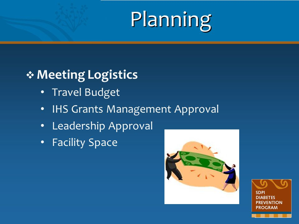 Planning Meeting Logistics Travel Budget