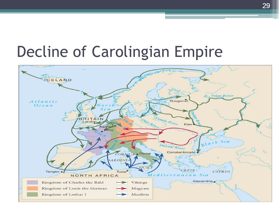 Decline of Carolingian Empire