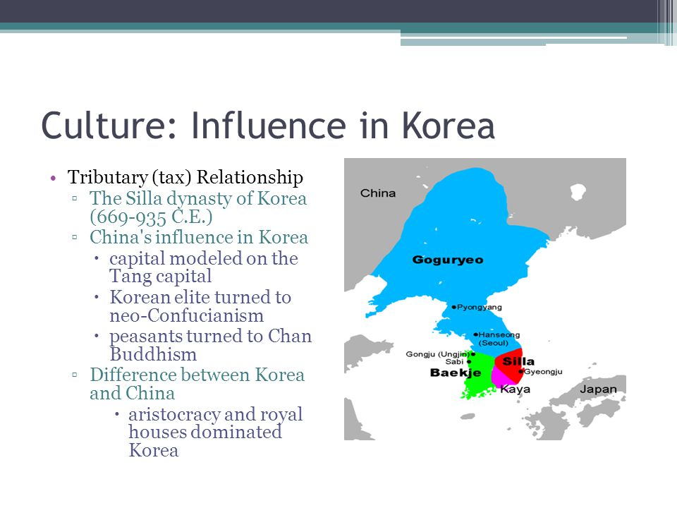 Culture: Influence in Korea