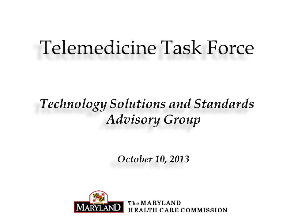 Technology Solutions and Standards Advisory Group