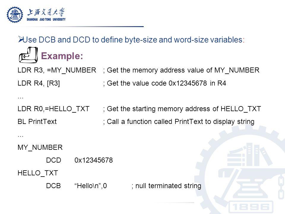 Cortex-M3 Instruction Sets - ppt download