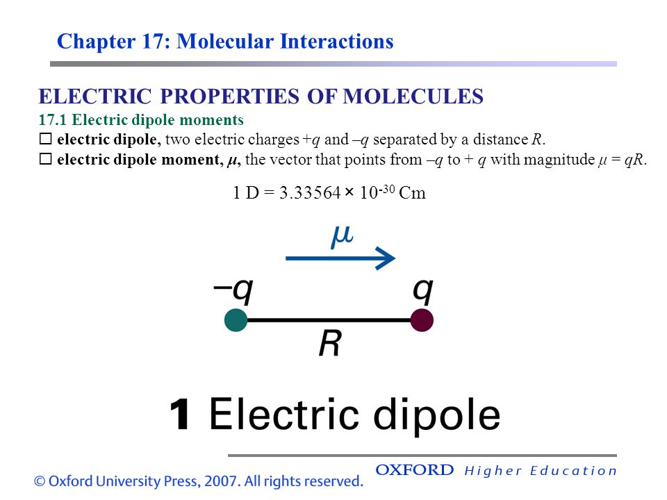 Chapter 17: Molecular Interactions