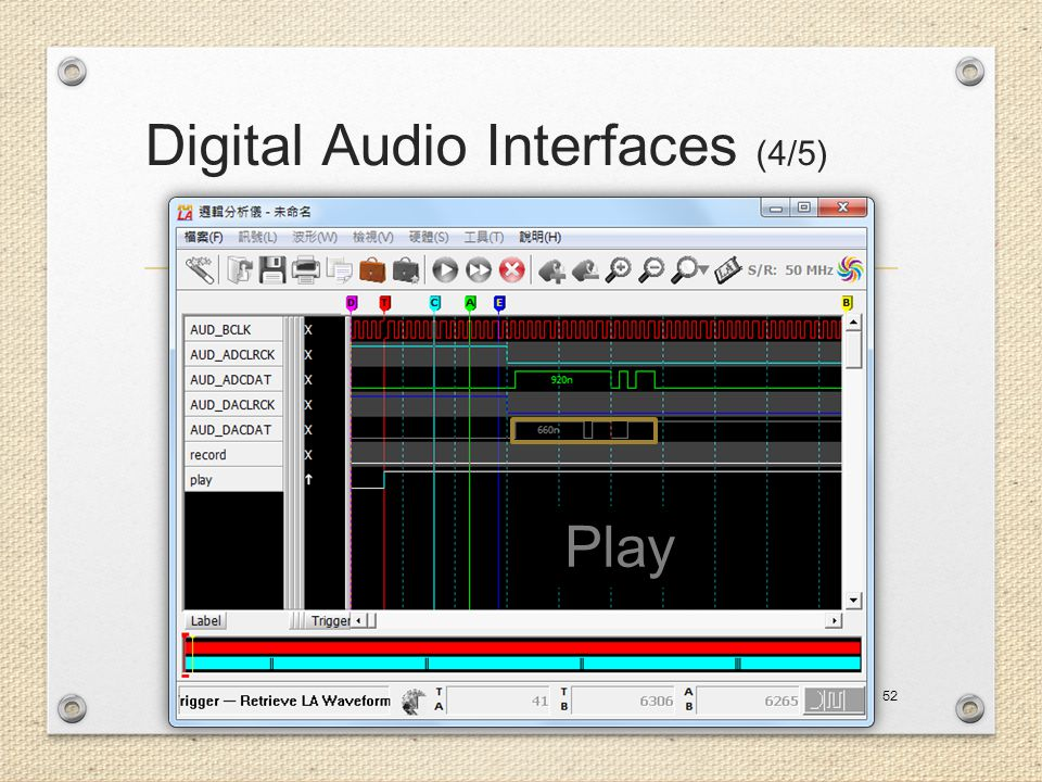 Digital Audio Interfaces (4/5)