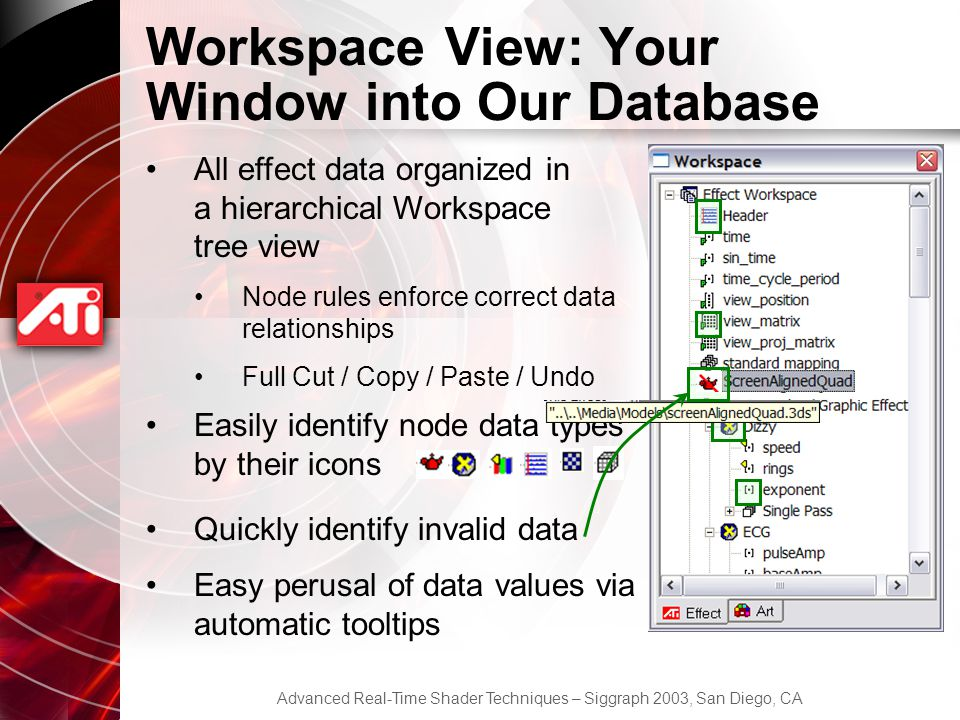 Workspace View: Your Window into Our Database