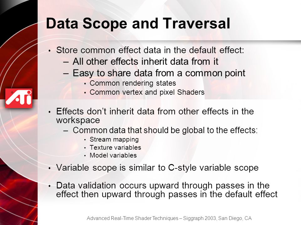 Data Scope and Traversal