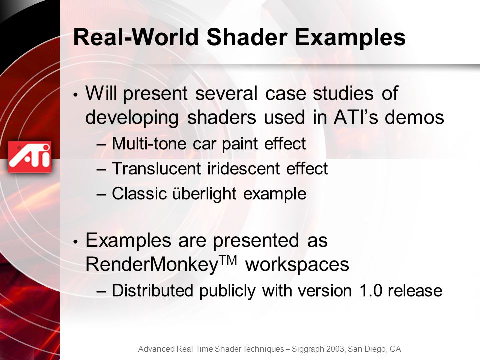 Real-World Shader Examples