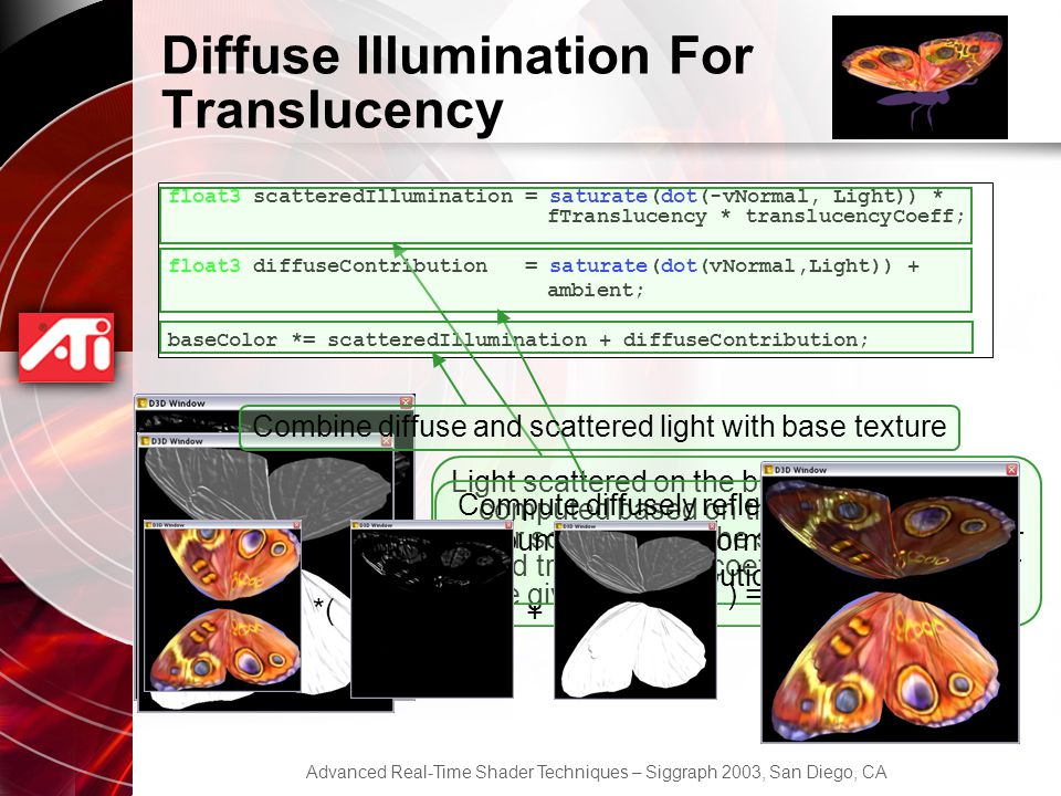 Diffuse Illumination For Translucency