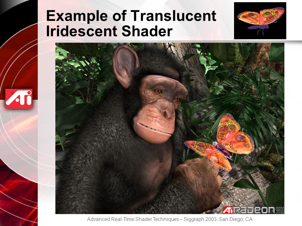 Example of Translucent Iridescent Shader
