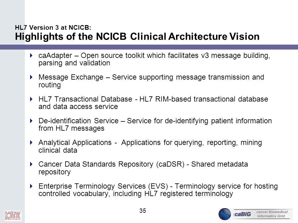 HL7 Version 3 at NCICB Overview - ppt download