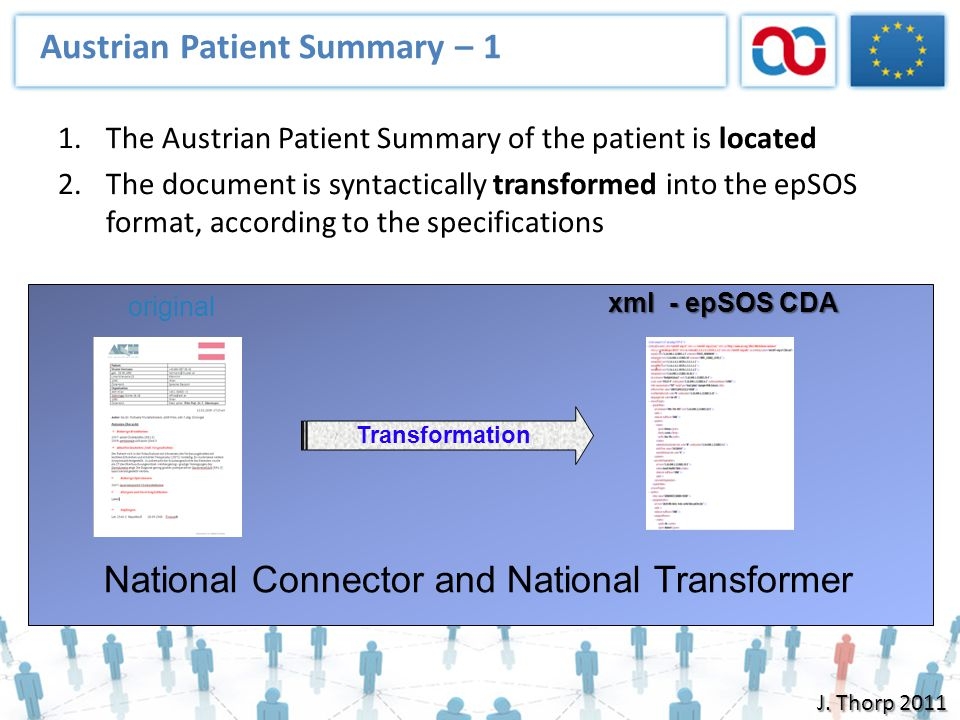 Austrian Patient Summary – 1
