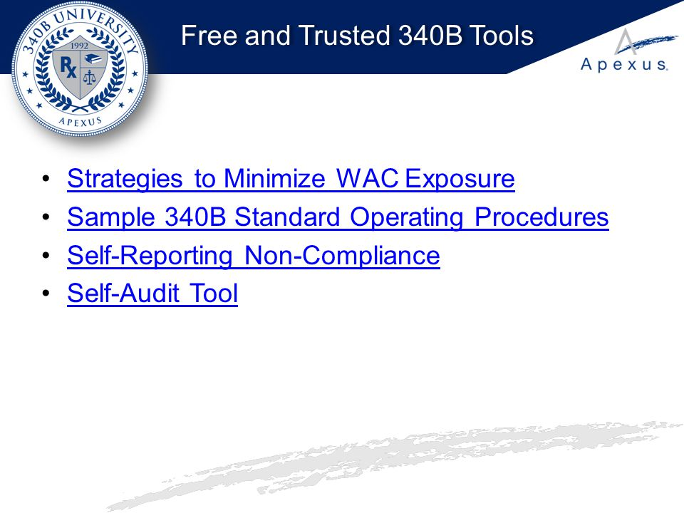 Free and Trusted 340B Tools