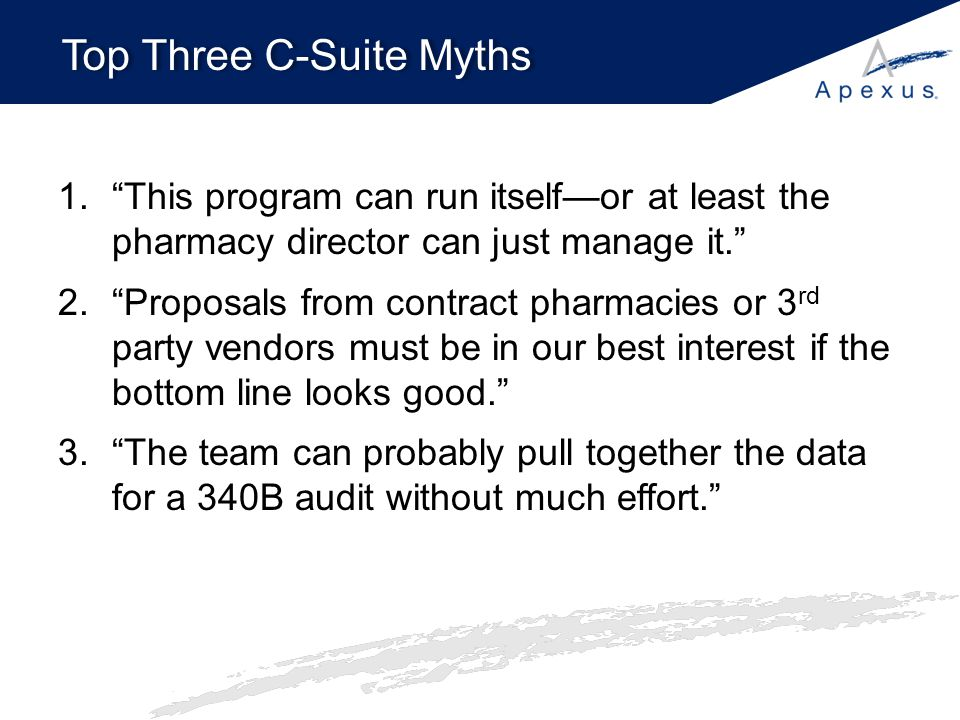 Top Three C-Suite Myths