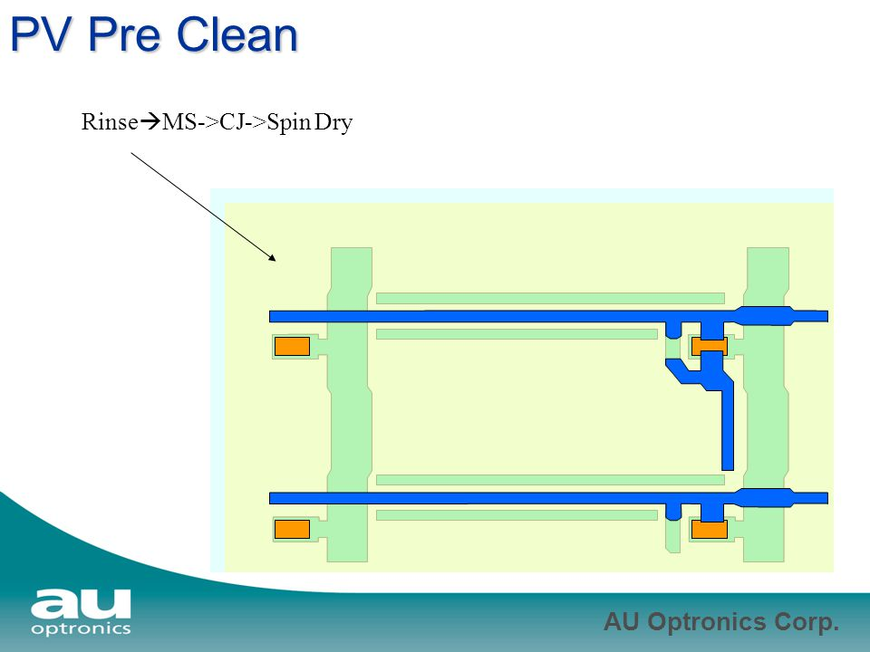 PV Pre Clean RinseMS->CJ->Spin Dry