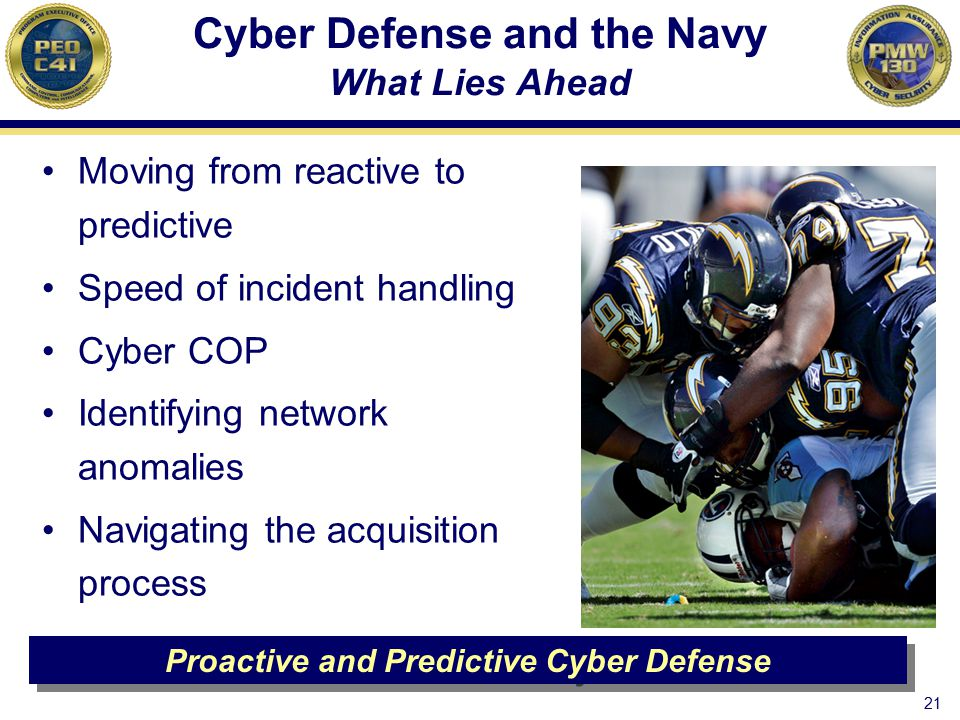 Cyber Defense and the Navy What Lies Ahead