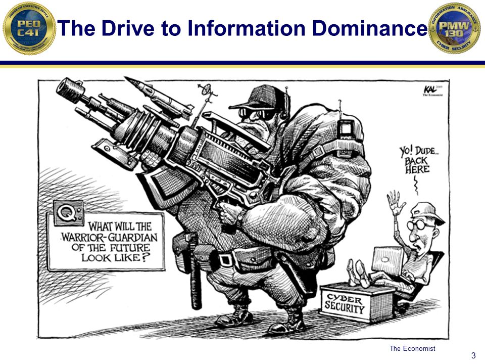 The Drive to Information Dominance