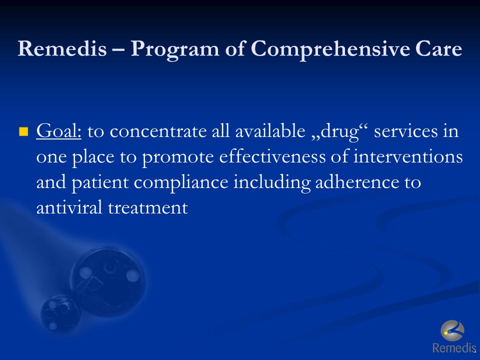 Remedis – Program of Comprehensive Care